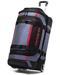 Samsonite Ripstop Wheeled Rolling Duffel Bag - Blue