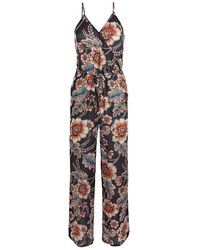 O'neill Sportswear Lw Jumpsuit-mix And Match Casual Dress - Multicolour