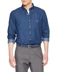 GANT - The Regular Shirt Camicia - Lyst