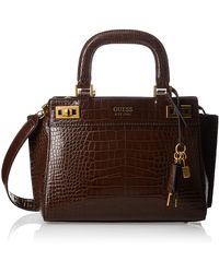 Guess - KATEY GIRLFRIEND SATCHEL - Lyst