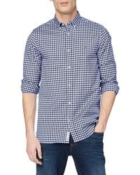 Tommy Hilfiger Slim Natural Soft Gingham Shirt - Bleu