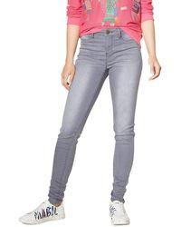 Desigual Denim Trousers Fraternit/é Jeans Skinny Donna