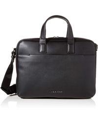Calvin Klein CK Central Laptop Bag - Noir
