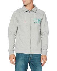 Tommy Hilfiger - Zip Thru Jacket Sweatshirt - Lyst