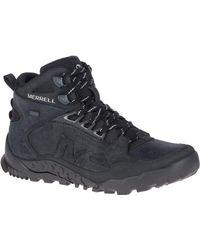Merrell Annex Trak V Mid Waterproof Men's Walking Boots In Multicolour - Black