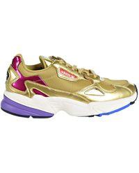 adidas Originals Falcon Shoes Gold Metallic/Gold Metallic/Off White cg6247 - Multicolore