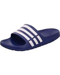 721eabf0f9ac adidas - Unisex Adult Duramo Slide Open Toe Sandals - Lyst