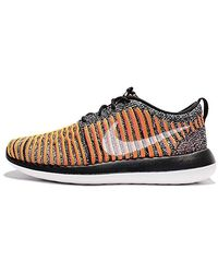 pretty nice 01f9d 7a0f7 W Roshe Two Flyknit Running Shoes - Black