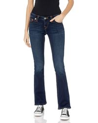 True Religion Becca Mid Rise Bootcut Fit Jean - Blue