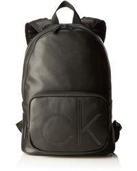 Calvin Klein CK UP ROUND BACKPACKHombreShoppers y bolsos de hombroNegro