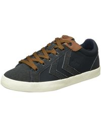 Hummel DEUCE COURT WINTER Low-Top - Blau
