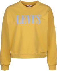 Levi's Levi ́s ® Graphic Diana Crew XS - Jaune