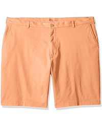 Izod - Big And Tall Saltwater Stretch Chino Short - Lyst
