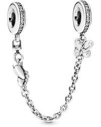 PANDORA Bead Charms de plata de ley 925 788244. - Metálico