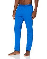 Calvin Klein Sleep Pant Pantalones de Pijama - Azul