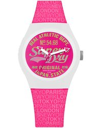 Superdry Casual Watch Syl249p - Pink