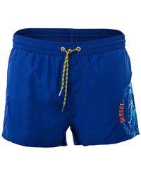 DIESEL SANDY - Pantaloncini da uomo Bleu E-5129 - Blu