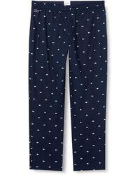 Lacoste De Pyjamas Sous-vetem Bottoms - Blue