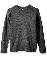 Izod - Cotton Space Dye Waffle Knit Top - Lyst