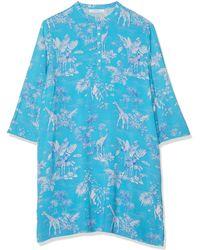 Women'secret Secret DT Jungle Camisole Camiseta sin gas - Azul