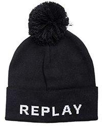 Replay Beanie - Black