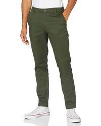 Calvin Klein Ckj026 Slim Stretch Chino Pant Pantalones - Verde