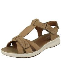 1ee830a9b9fdd Ladies Unstructured Strappy Sandals Un Adorn Vibe - Natural
