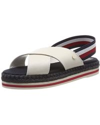 1d3a337b4 Tommy Hilfiger - Colorful Rope Flat Sandal Flip Flops - Lyst