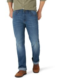Lee Jeans Performance Series Extreme Motion Regular Fit Bootcut Jean - Blue