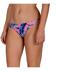Hurley Apparel Quick Dry Floral Surf Bottom - Pink