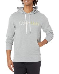 Calvin Klein Immerge French Terry Hoodie - Grey