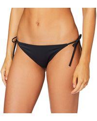 Calvin Klein Cheeky String Side Tie Bikinihose - Schwarz