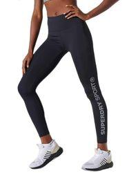 Superdry Training Essential Leggings - Black