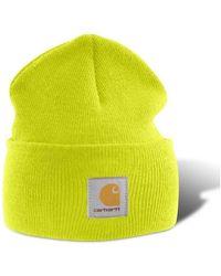 Carhartt Watch Hat Beanie A18 Strickmütze (gelb)