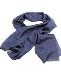Emporio Armani 6252538A353 Étole pour homme Bleu