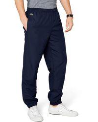 Lacoste Sport Xh120t Regular Fit Sports Trousers - Blue