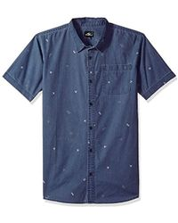 O'neill Sportswear Button Down Shirt - Blue