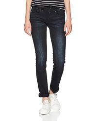G-Star RAW Damen Midge Saddle Straight Jeans - Blau