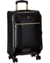 Guess Rancho carry-on luggage - Nero