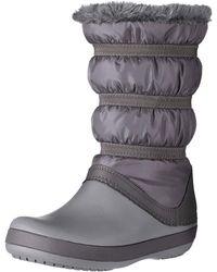 Crocs™ Crocband Winter Boot Schneestiefel - Grau