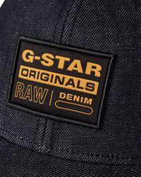 G-Star RAW Trucker Baseball Cap - Blue