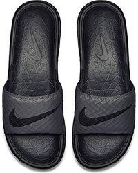 Nike Benassi Solarsoft Sneakers - Schwarz