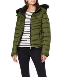Superdry Fuji Slim 3 In 1 Jacket - Green