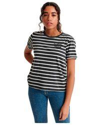 Superdry - Heritage Stripe Tee T-shirt - Lyst