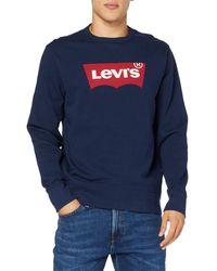 Levi's Graphic Crew B Sweat-Shirt - Bleu