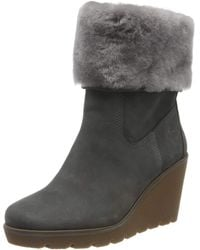 Timberland Paris Height Shearling Chelsea - Gris