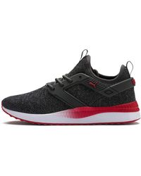PUMA - Pacer Next Excel Variknit Dark Shadow/High Risk Red 11.5 - Lyst