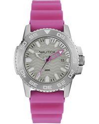Nautica Horloge NAI12533G - Rose