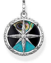 Thomas Sabo Silver Pendant Pe833-980-7 - Multicolour