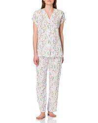 Esprit Armatha Cas Nw Cve Kurzarm Pyjama Pyjama Set - Multicolour